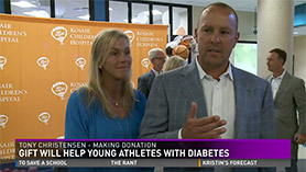 $1 Million Gift Will Help Young Athletes with Diabetes thumbnail